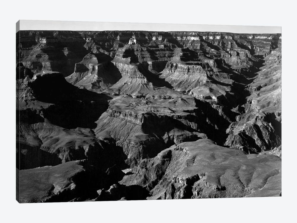 Grand Canyon National Park XVII by Ansel Adams 1-piece Canvas Print