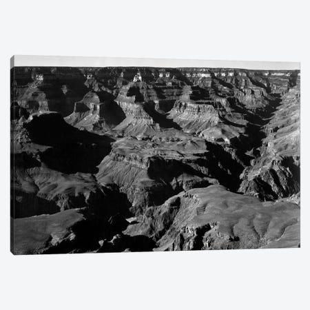 Grand Canyon National Park XVII 3-Piece Canvas #AAD11} by Ansel Adams Canvas Print