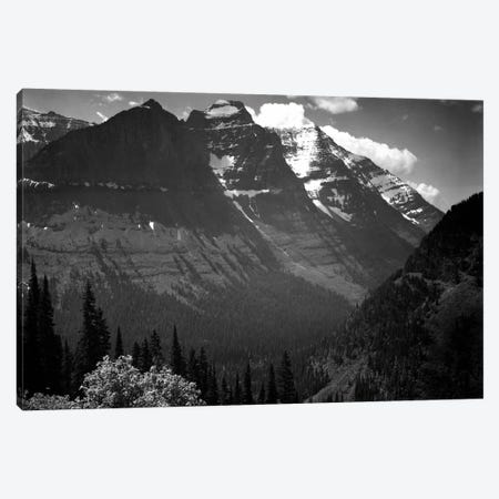 In Glacier National Park II Canvas Print #AAD12} by Ansel Adams Canvas Print