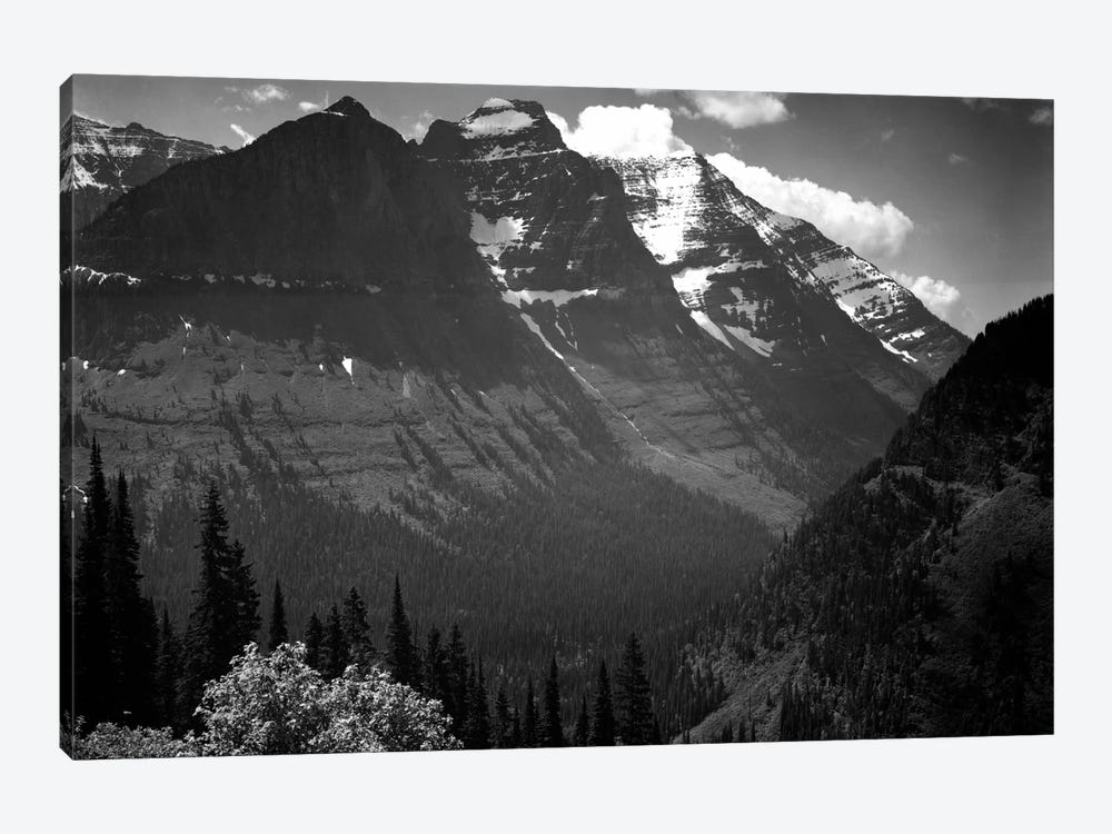 In Glacier National Park II by Ansel Adams 1-piece Canvas Wall Art