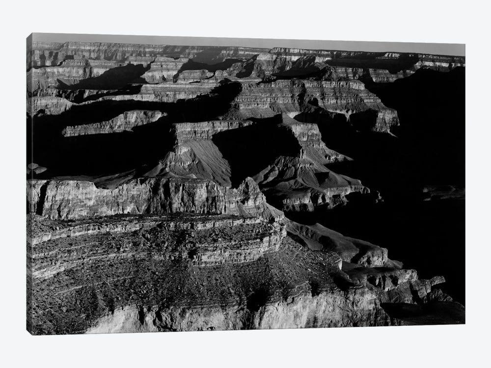 Grand Canyon National Park XX by Ansel Adams 1-piece Canvas Art Print