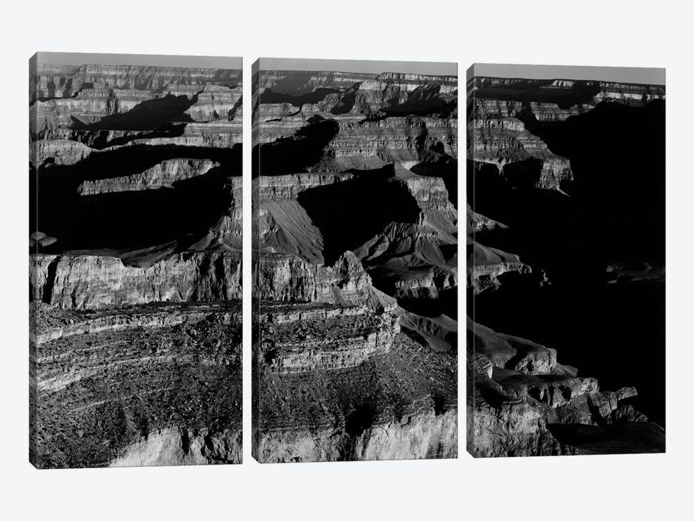 Grand Canyon National Park XX by Ansel Adams 3-piece Art Print