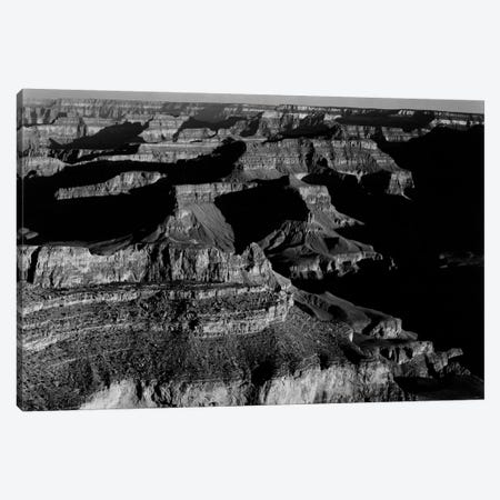 Grand Canyon National Park XX 3-Piece Canvas #AAD17} by Ansel Adams Canvas Artwork