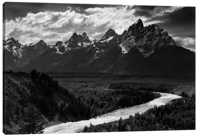 Grand Teton II Canvas Print #AAD19