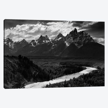 Grand Teton II Canvas Print #AAD19} by Ansel Adams Canvas Art Print