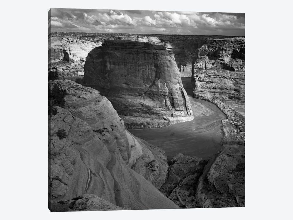 Canyon de Chelly by Ansel Adams 1-piece Canvas Print