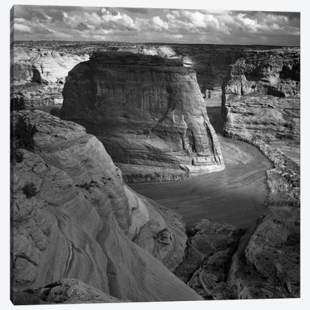 Canyon de Chelly 3-Piece Canvas #AAD1} by Ansel Adams Art Print
