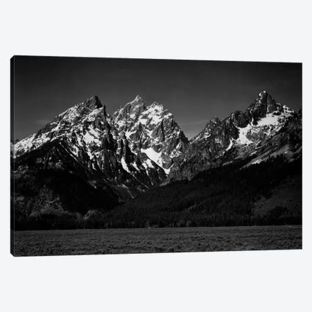 Grand Teton XI Canvas Print #AAD22} by Ansel Adams Canvas Wall Art