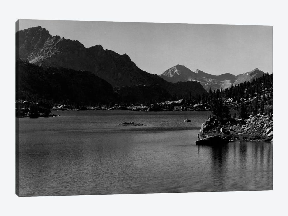 Rac Lake by Ansel Adams 1-piece Canvas Wall Art