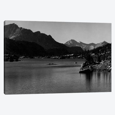 Rac Lake 3-Piece Canvas #AAD23} by Ansel Adams Canvas Art