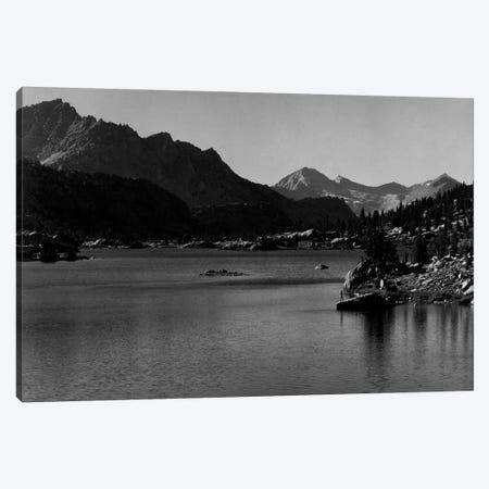Rac Lake Canvas Print #AAD23} by Ansel Adams Canvas Art