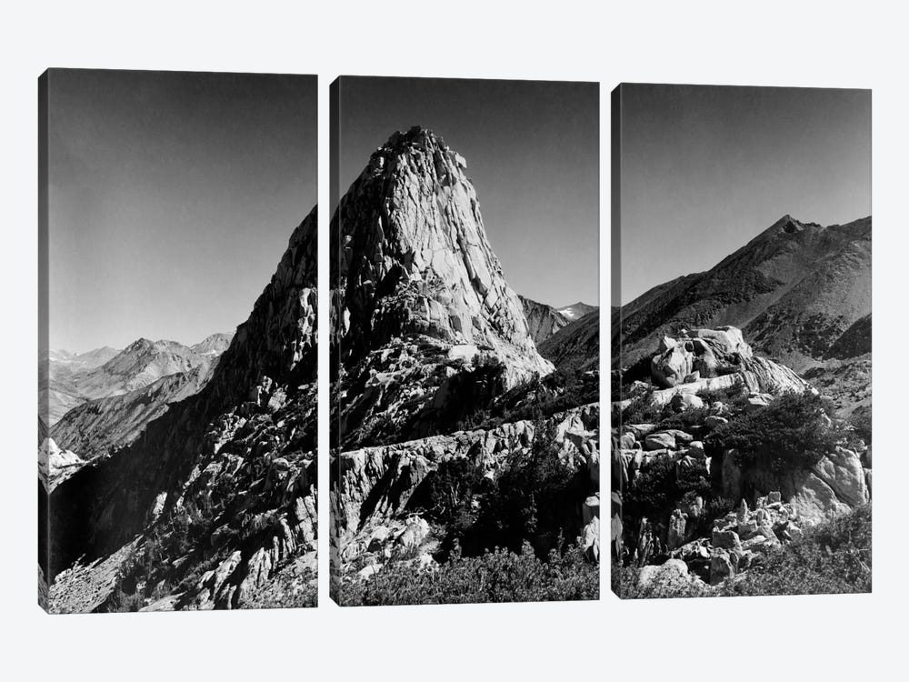 Fin Dome by Ansel Adams 3-piece Art Print