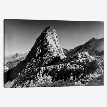 Fin Dome Canvas Print #AAD24} by Ansel Adams Canvas Print