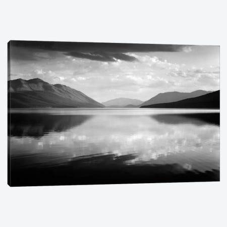 Evening, McDonald Lake, Glacier National Park Canvas Print #AAD2} by Ansel Adams Canvas Print