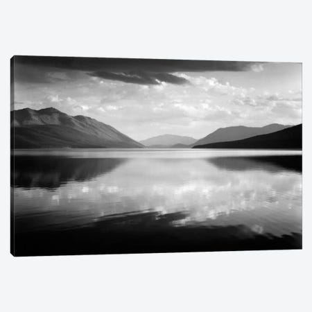 Evening, McDonald Lake, Glacier National Park Canvas Print #AAD2} by Ansel Adams Canvas Print