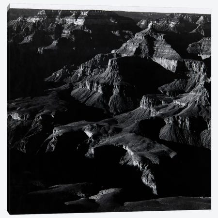 Grand Canyon Canvas Print #AAD3} by Ansel Adams Art Print