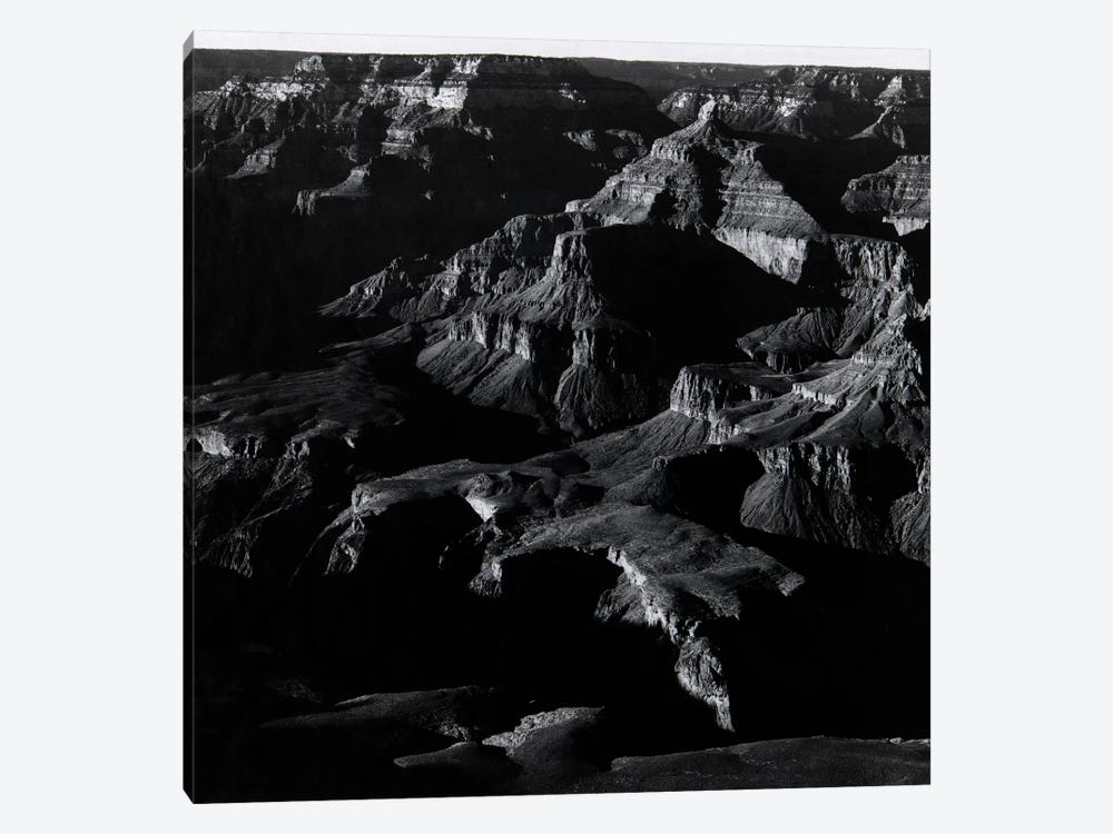 Grand Canyon by Ansel Adams 1-piece Canvas Print