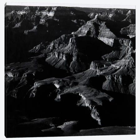 Grand Canyon 3-Piece Canvas #AAD3} by Ansel Adams Art Print