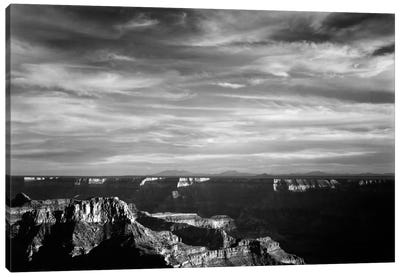 Grand Canyon From N. Rim, 1941 Canvas Art Print