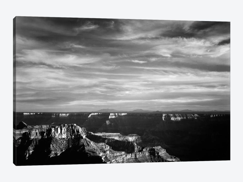 Grand Canyon From N. Rim, 1941 by Ansel Adams 1-piece Canvas Wall Art
