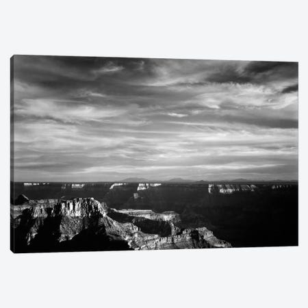 Grand Canyon From N. Rim, 1941 3-Piece Canvas #AAD4} by Ansel Adams Canvas Art
