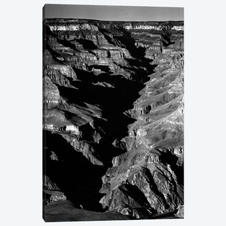 Grand Canyon From S. Rim, 1941 Canvas Print #AAD5} by Ansel Adams Canvas Art