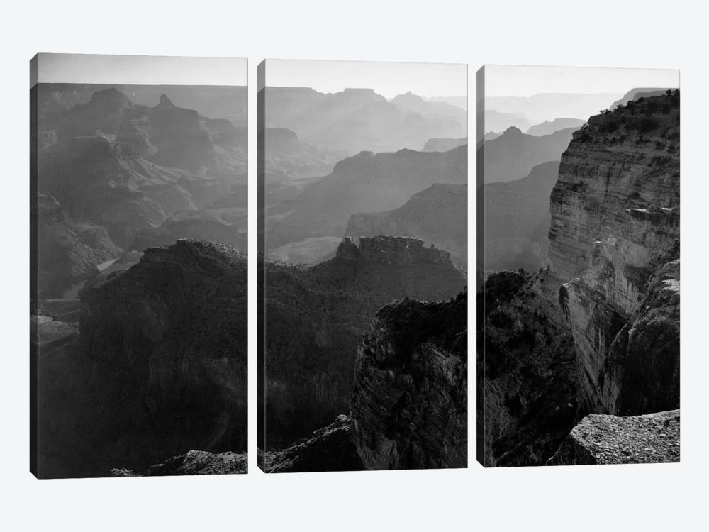 Grand Canyon National Park I by Ansel Adams 3-piece Canvas Art