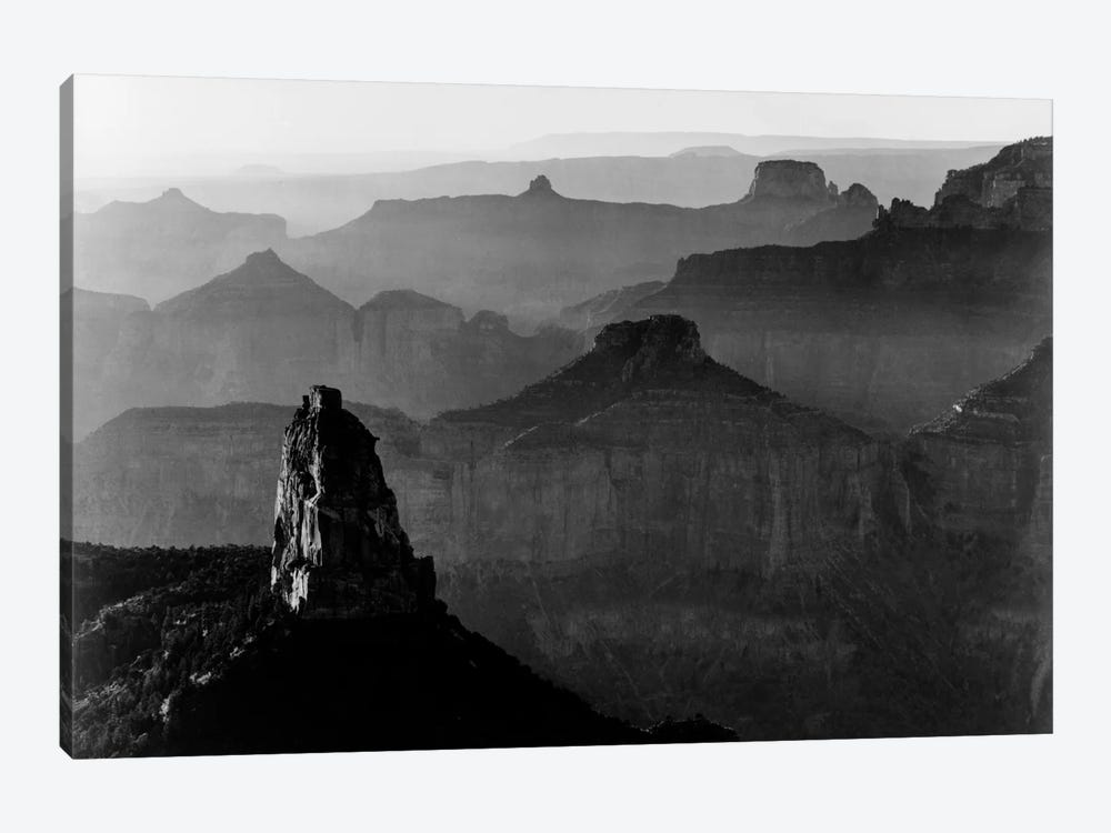 Grand Canyon National Park III by Ansel Adams 1-piece Canvas Art Print