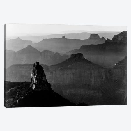 Grand Canyon National Park III 3-Piece Canvas #AAD7} by Ansel Adams Canvas Artwork