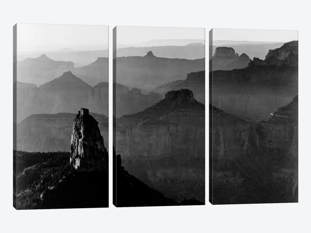 Grand Canyon National Park III by Ansel Adams 3-piece Art Print