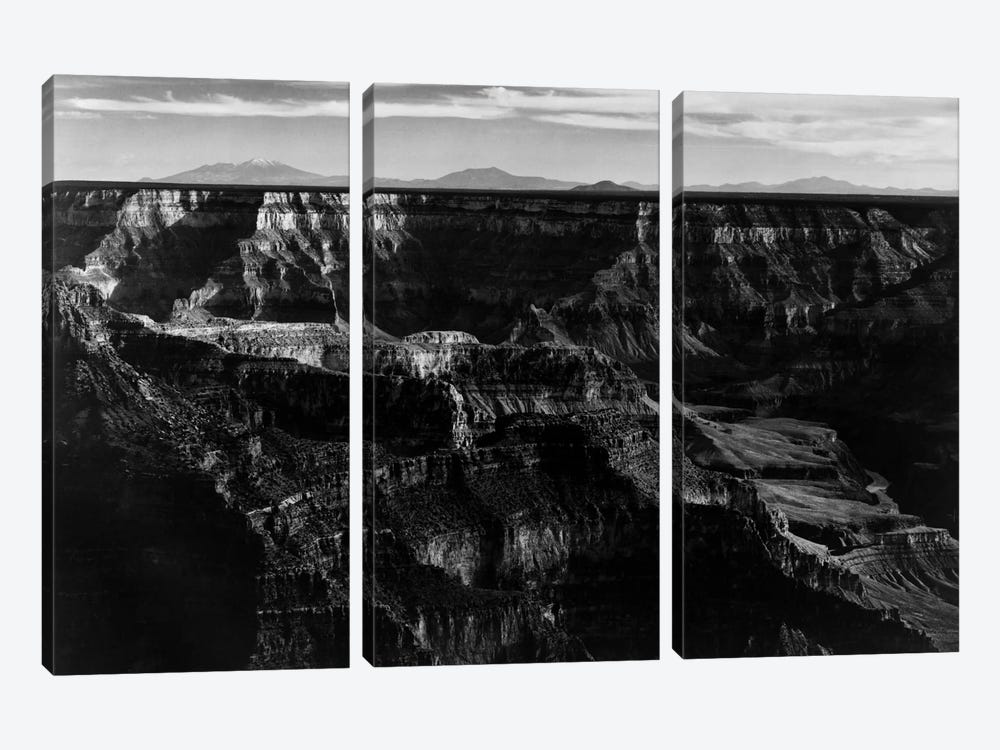 Grand Canyon National Park XII by Ansel Adams 3-piece Canvas Art Print