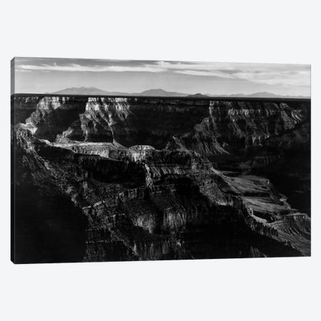 Grand Canyon National Park XII 3-Piece Canvas #AAD9} by Ansel Adams Canvas Art Print