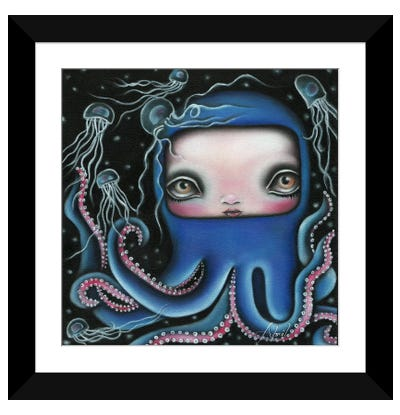 Jolenta Framed Art Print