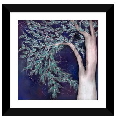 Justyna Framed Art Print