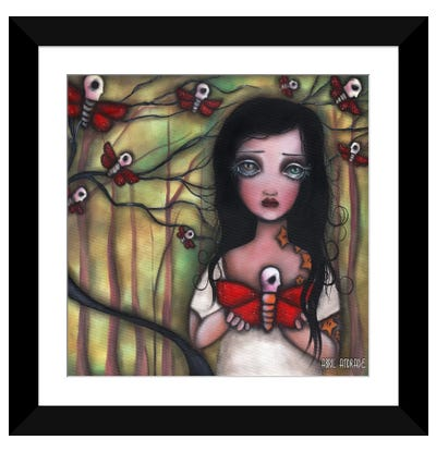 Matilda Framed Art Print