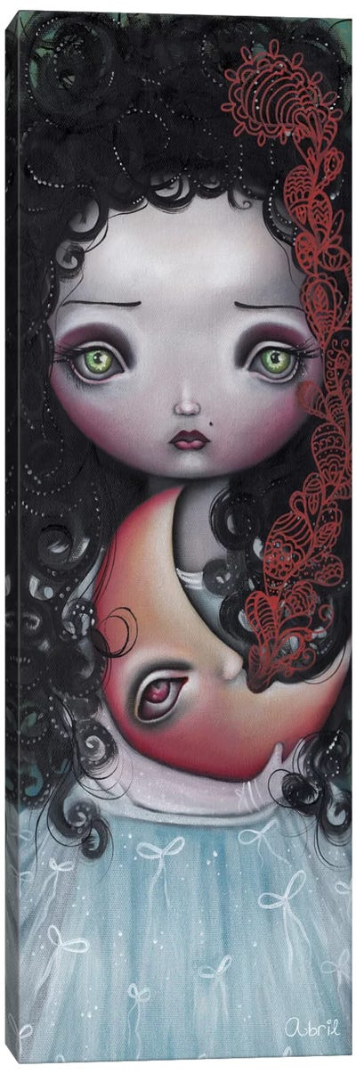 Moon Keeper Canvas Art Print