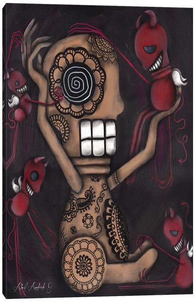My Conscience Canvas Art Print