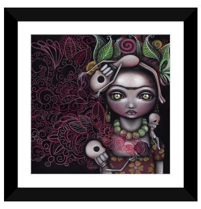 My Inner Feelings Framed Art Print