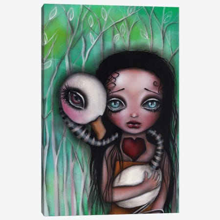 Never Alone Canvas Print #AAE23} by Abril Andrade Canvas Print