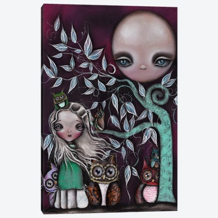 Night Creatures Canvas Print #AAE24} by Abril Andrade Canvas Artwork