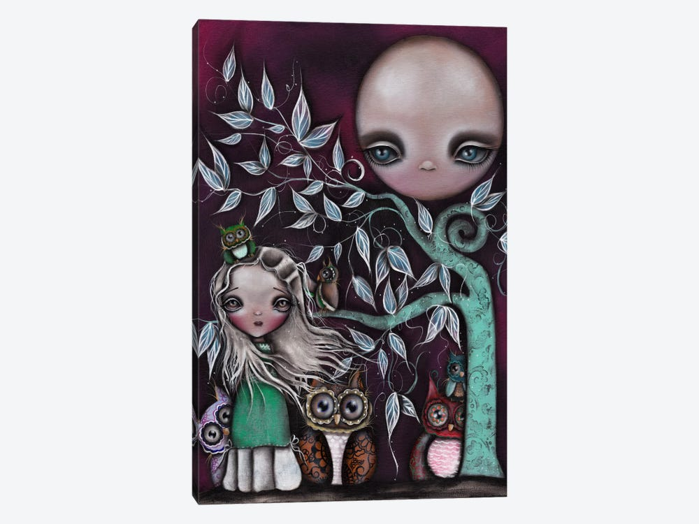 Night Creatures by Abril Andrade 1-piece Canvas Wall Art