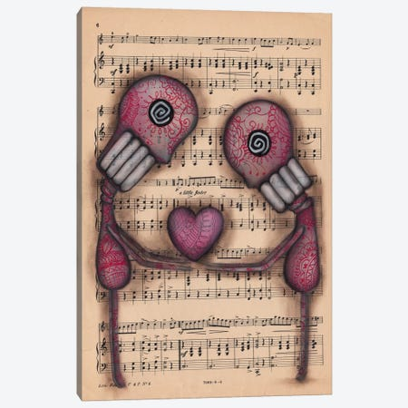 Nuestro Amor Eterno Canvas Print #AAE25} by Abril Andrade Canvas Art