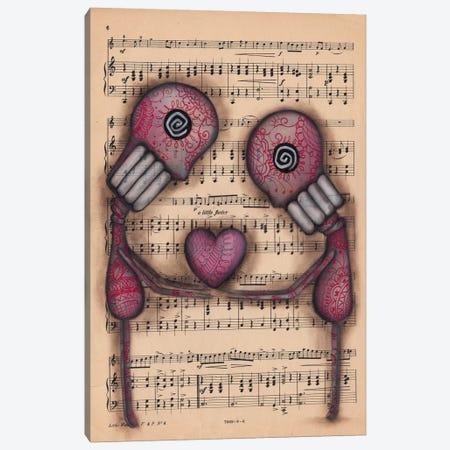 Nuestro Amor Eterno Canvas Print #AAE25} by Abril Andrade Canvas Art