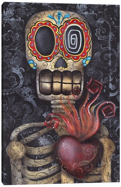 Sacred Heart Canvas Art Print