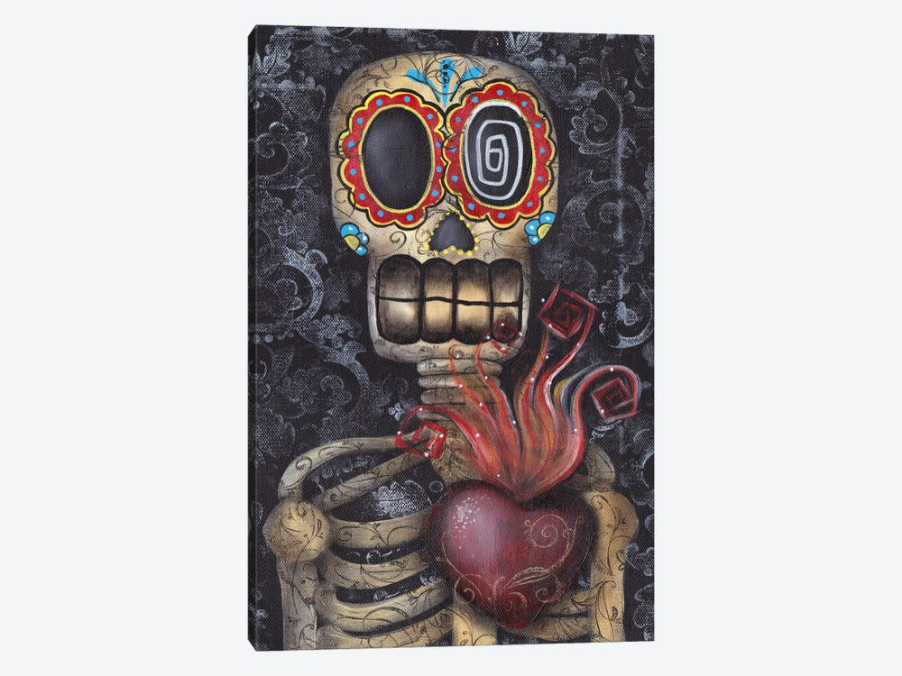 Sacred Heart by Abril Andrade 1-piece Canvas Wall Art