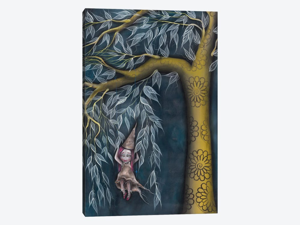 Swing Away by Abril Andrade 1-piece Canvas Print