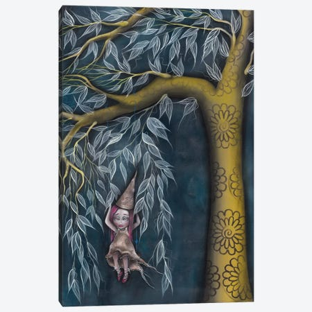 Swing Away Canvas Print #AAE32} by Abril Andrade Canvas Artwork