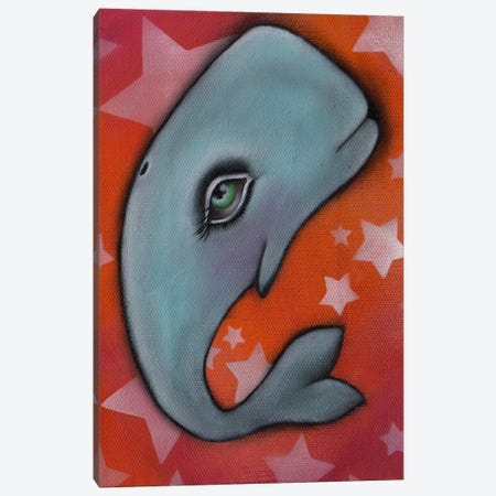 Whale Canvas Print #AAE36} by Abril Andrade Canvas Print
