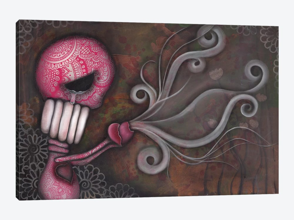 Deception by Abril Andrade 1-piece Canvas Art Print