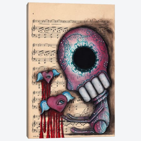 Melting Hearts Canvas Print #AAE51} by Abril Andrade Canvas Art
